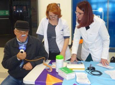 Peste 300 de sibieni și-au testat în mod GRATUIT sănătatea plămânilor