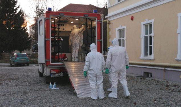 ALERTĂ: Primul pacient suspect de infecţie cu coronavirus depistat pe Aeroportul Internațional din Sibiu (VIDEO)