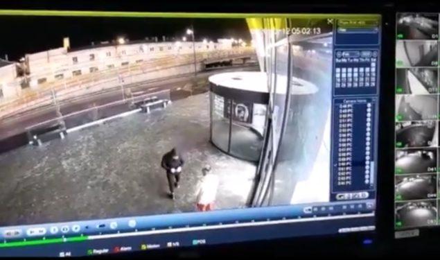 VIDEO: Hoț lăsat în libertate după ce victima și-a retras plângerea
