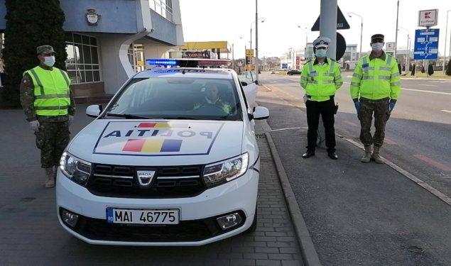 VIDEO: Din megafoanele mașinilor de poliție a răsunat IMNUL ROMÂNIEI
