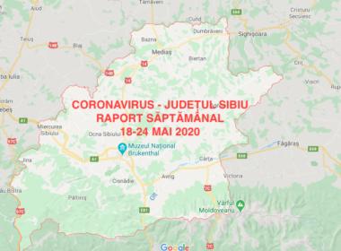 RAPORT SĂPTĂMÂNAL CORONAVIRUS: 32 de cazuri noi și 4 decese