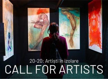 """""""20-20: Artiști în izolare"""" – o expoziție itinerantă la care sunt invitați să expună toți pasionații de artă sibieni"""