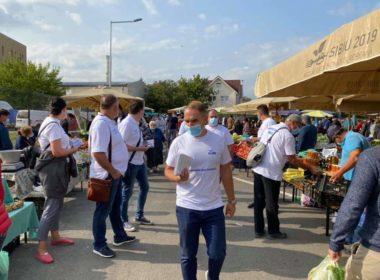 Marin Horaţiu, viitor primar al Sibiului: Sibienii vor pieţe volante în fiecare cartier! (PE)