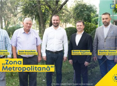 Adrian Bibu și primarii din jurul Sibiului susțin înființarea zonei Metropolitane (CP)