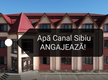 ANUNȚ: APĂ CANAL SIBIU face angajări