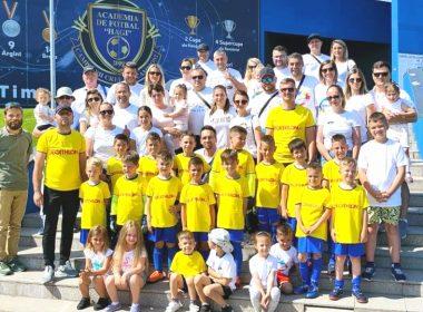 Vis devenit realitate pentru micuții fotbaliști de la Tigrii Team