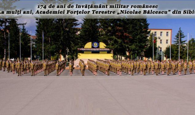 VIDEO: Aniversarea a 174 de ani de învățământ militar românesc