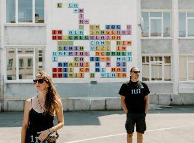 Prima poezie murală adusă la viață prin realitate augmentată se poate vedea la Sibiu
