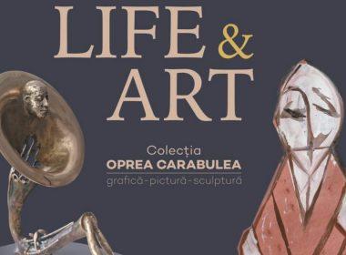 Vernisajul expoziţiei Life & Art, vineri, în grădina Palatului Brukenthal