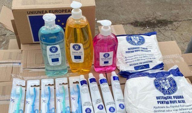 Primăria distribuie o nouă tranșă de pachete cu produse de igienă persoanelor defavorizate din municipiul Sibiu