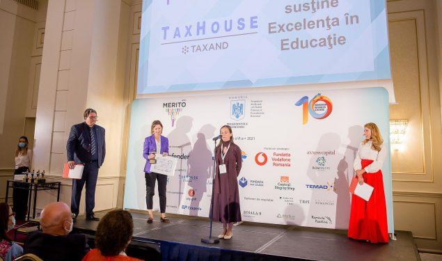 3 profesoare excepționale din Sibiu, PREMIATE la Gala MERITO pentru inovaţie în educație