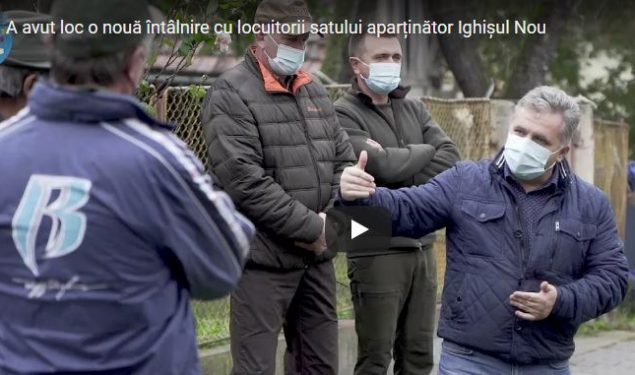 Ighișul Nou: Primarul Mediașului promite reabilitarea școlii și a grădiniței din sat, dar și asigurarea lemnului de foc pentru iarnă