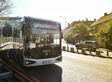 Autobuzul ATP Bus e-UpCity – în teste, în Sibiu!