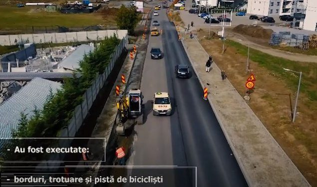 VIDEO: Lucrările de pe DJ 106 C Sibiu – Cisnădie avansează