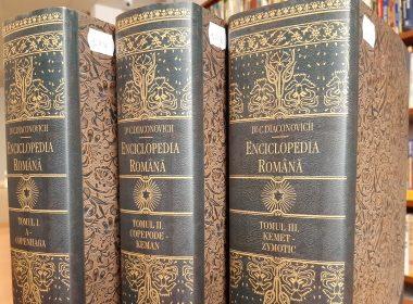 """Expoziție documentară la Biblioteca Județeană ASTRA Sibiu: """"Enciclopedia Română, opera editorială fundamentală a Asociațiunii ASTRA"""""""